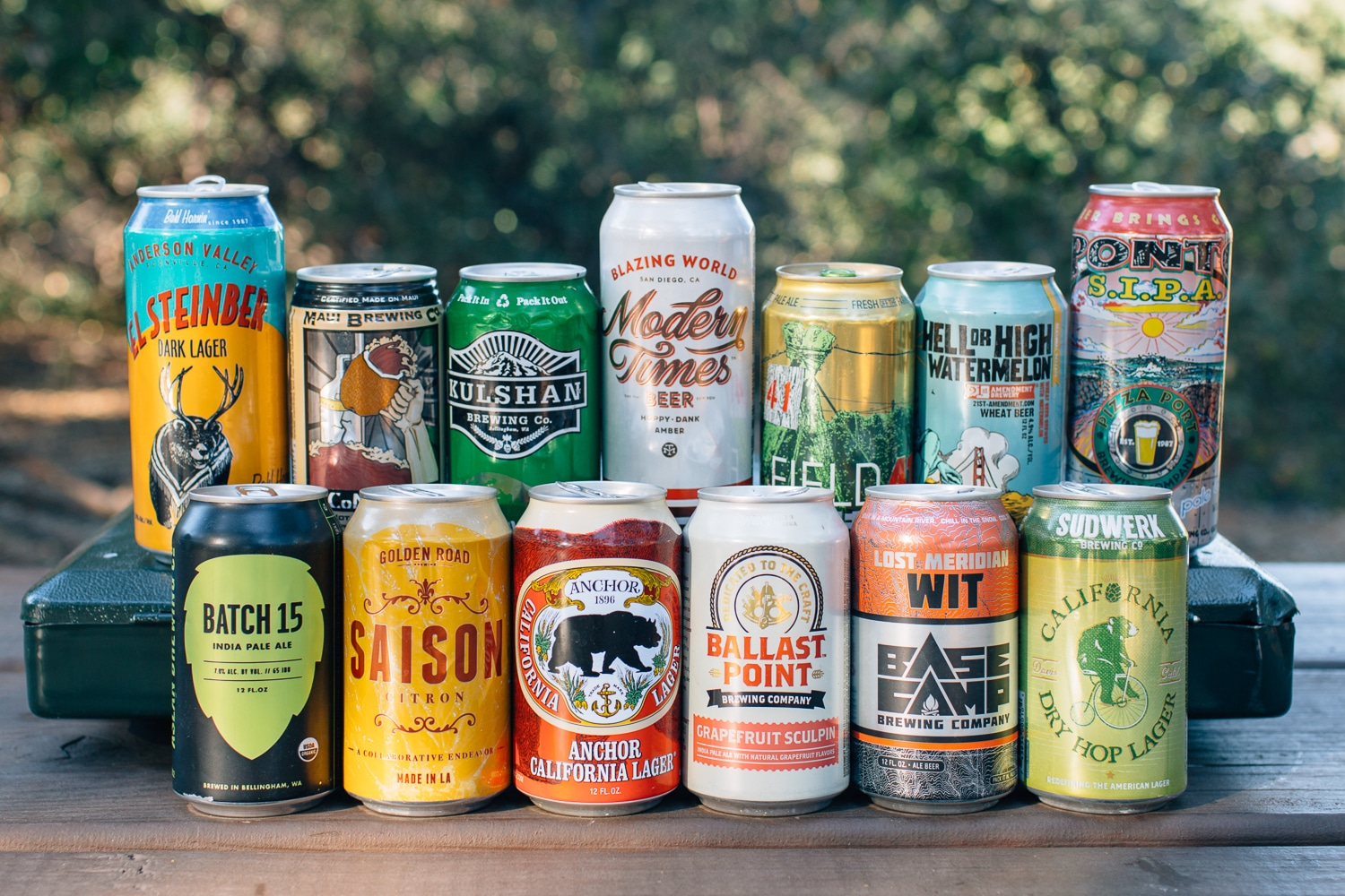 West Coast Canned Beer