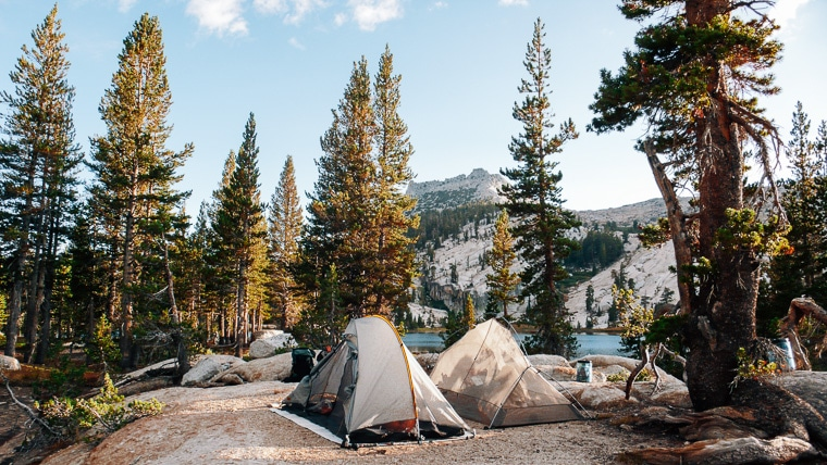 Backpacking Cathedral Lakes