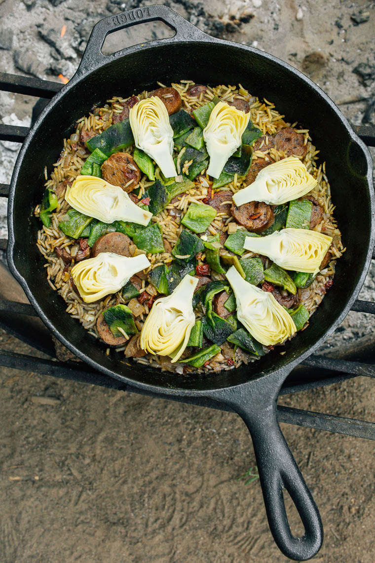 how to cook paella without saffron