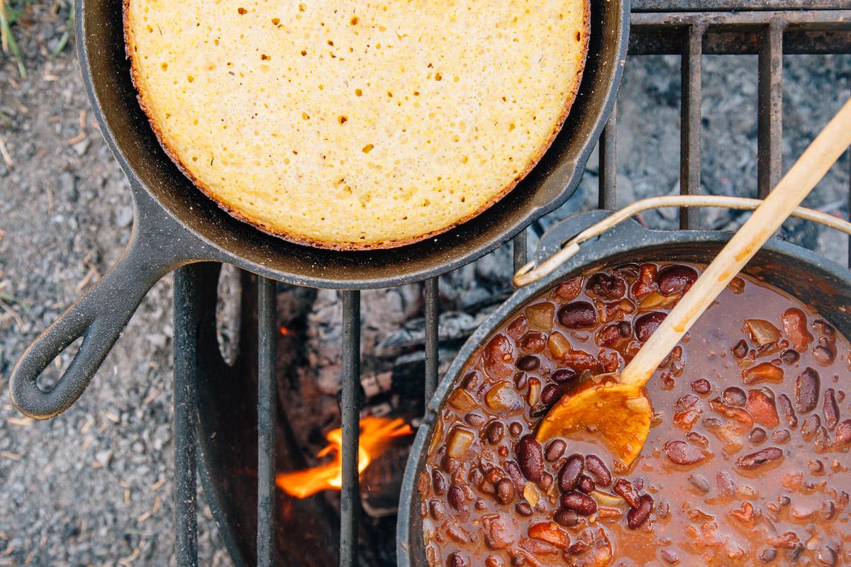 5 Can Campfire Chili