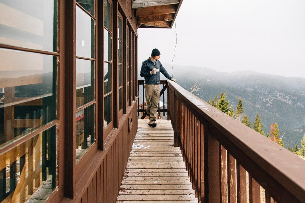 Garnet Mountain Fire Lookout Tower