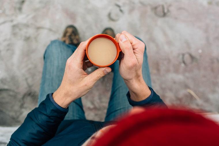 London Fog: A vegan earl grey tea latte, perfect for dreary winter mornings!