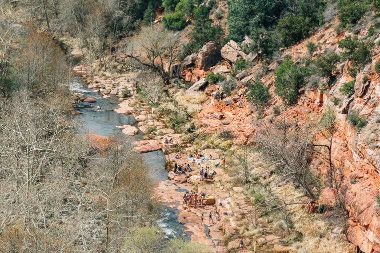 The Ultimate Guide to Sedona's Swimming Holes | Midgely Bridge