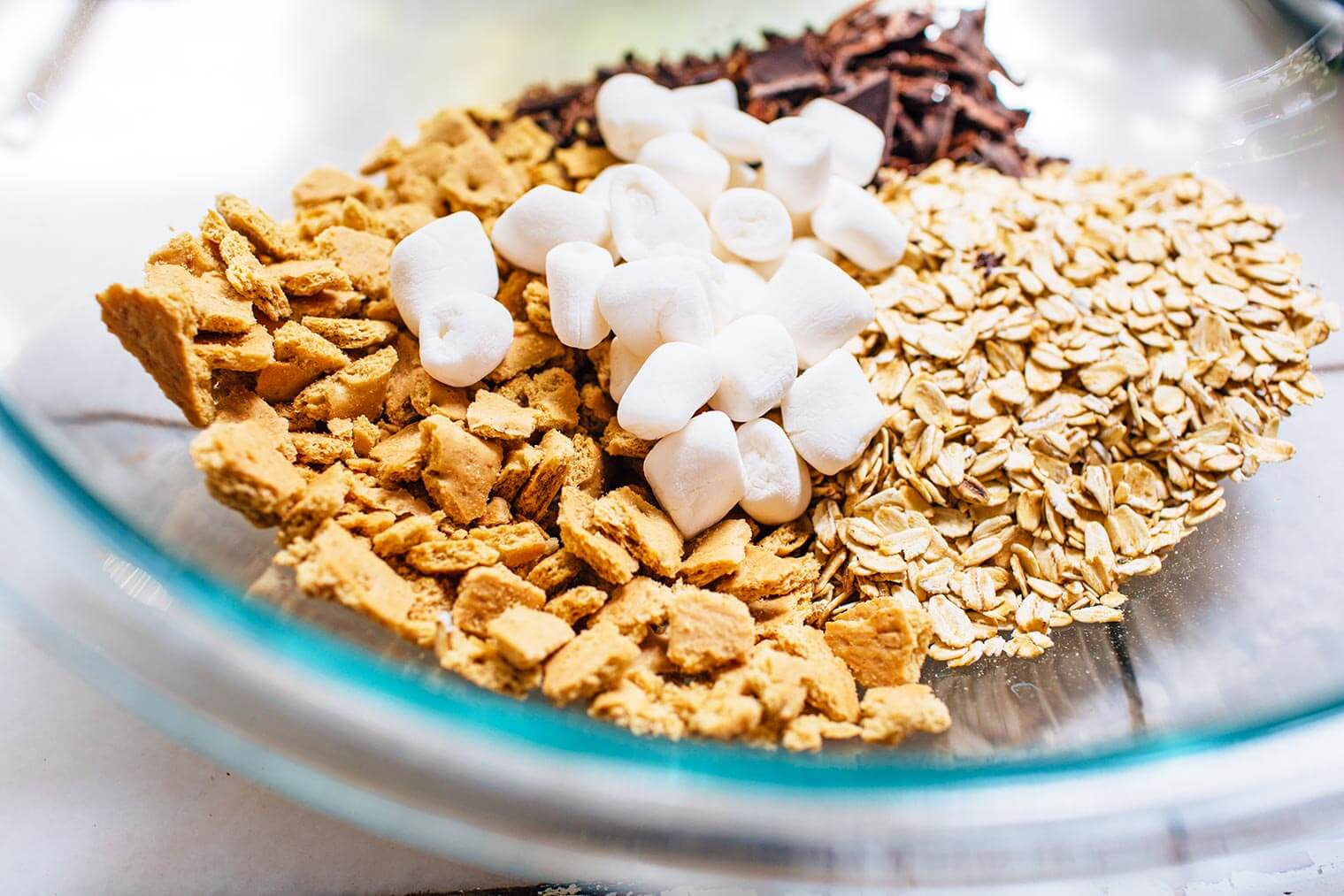 Vegan smores bars fresh off the grid these chewy vegan smores granola bars are a delicious camping inspired snack ccuart Choice Image