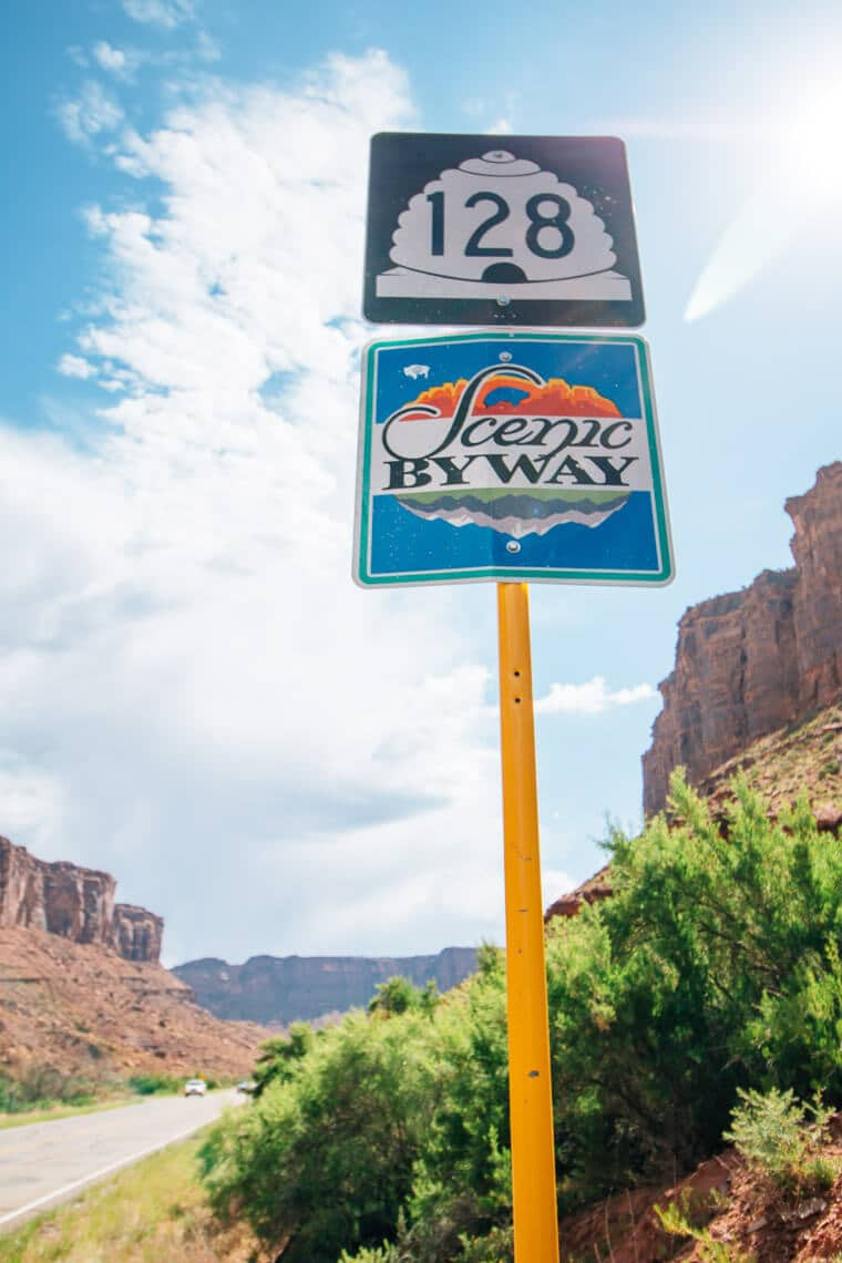 You don't need 4WD or an off road vehicle to explore the scenery of Moab, UT! Check out these scenic drives through red rock canyons, aspen forests, and to iconic arches.