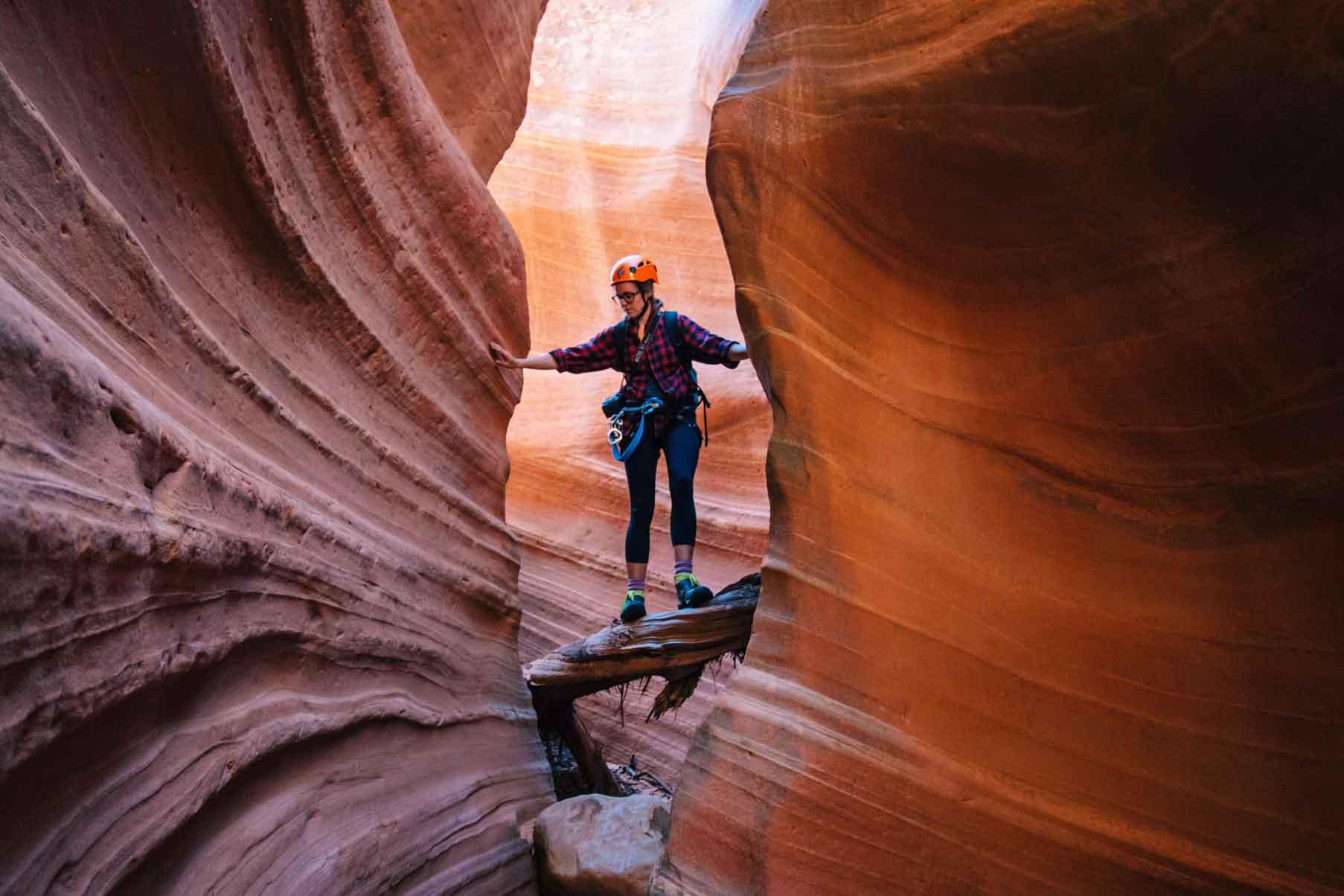 Canyoneering Zion Adventure Company The Huntress Slot Canyon 3