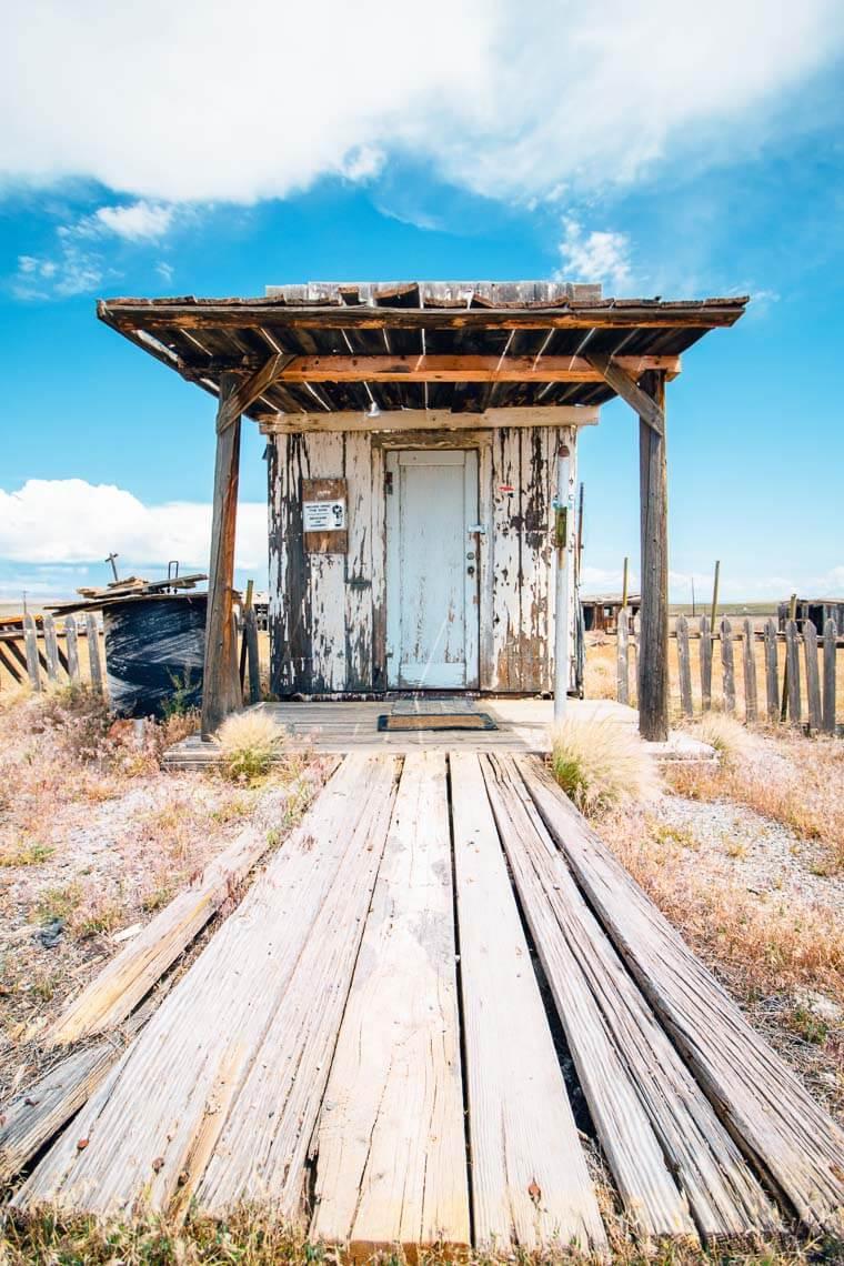 Cisco Ghost Town outside of Moab, Utah