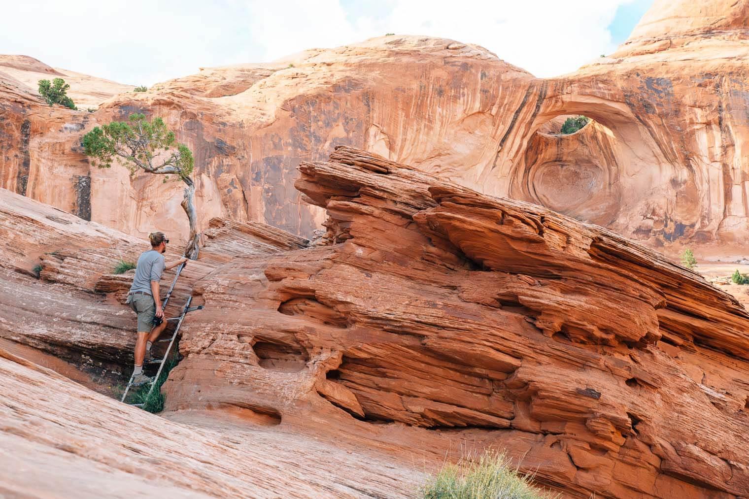 Hike to Corona Arch in Moab, Utah
