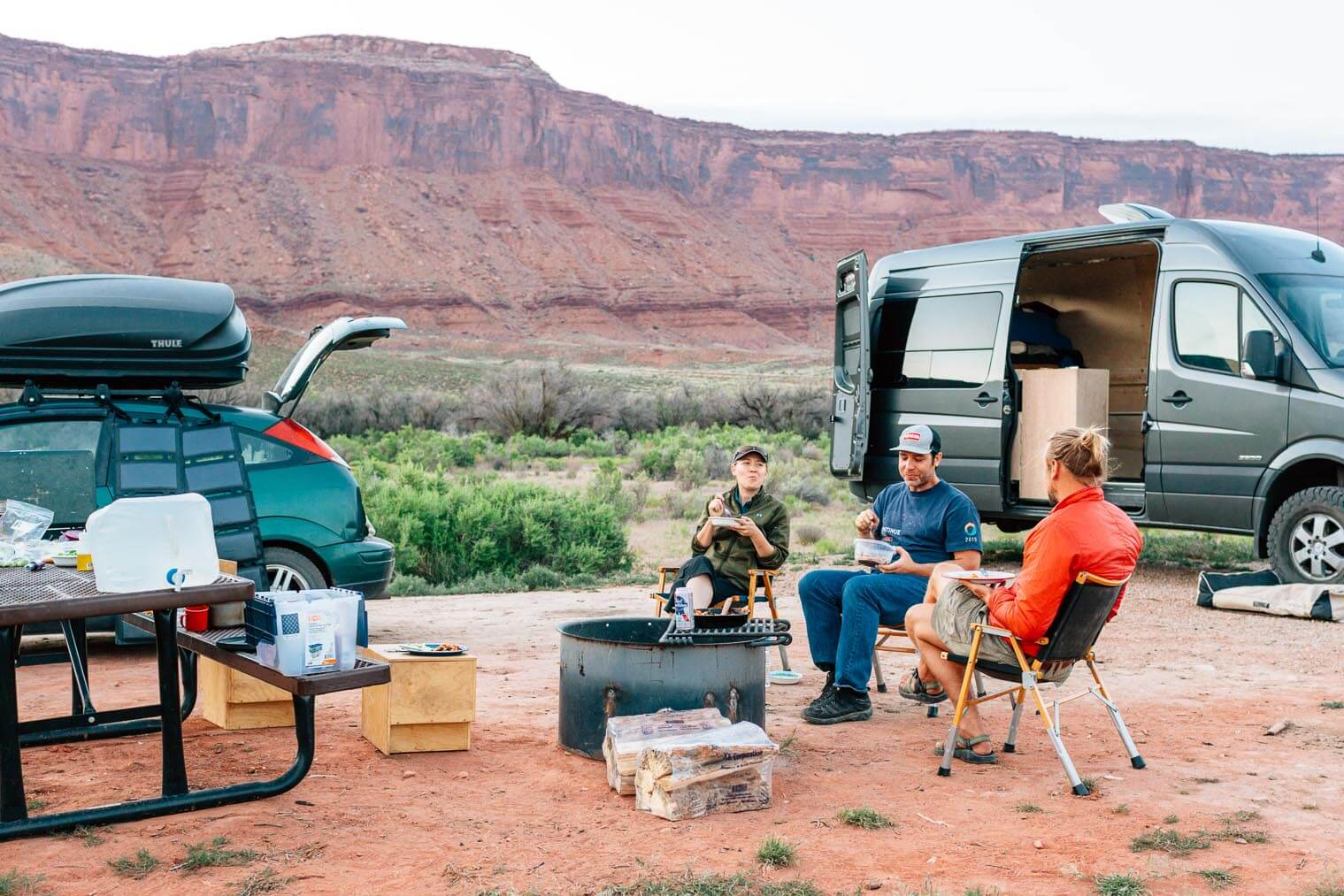 Lower Onion Creek Campground near Moab, UT