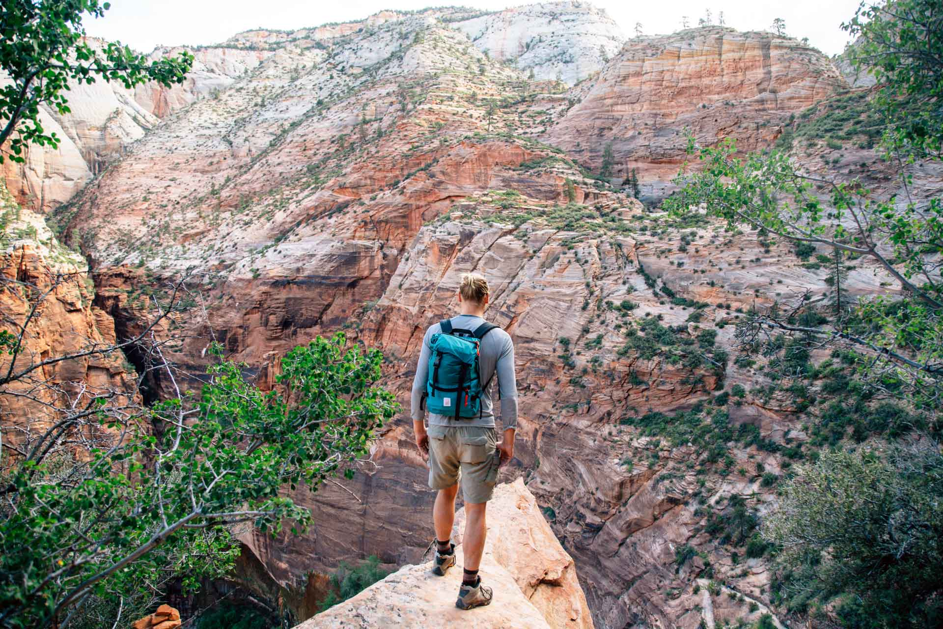 4 hikes to beat the crowds in zion national park | fresh off the grid