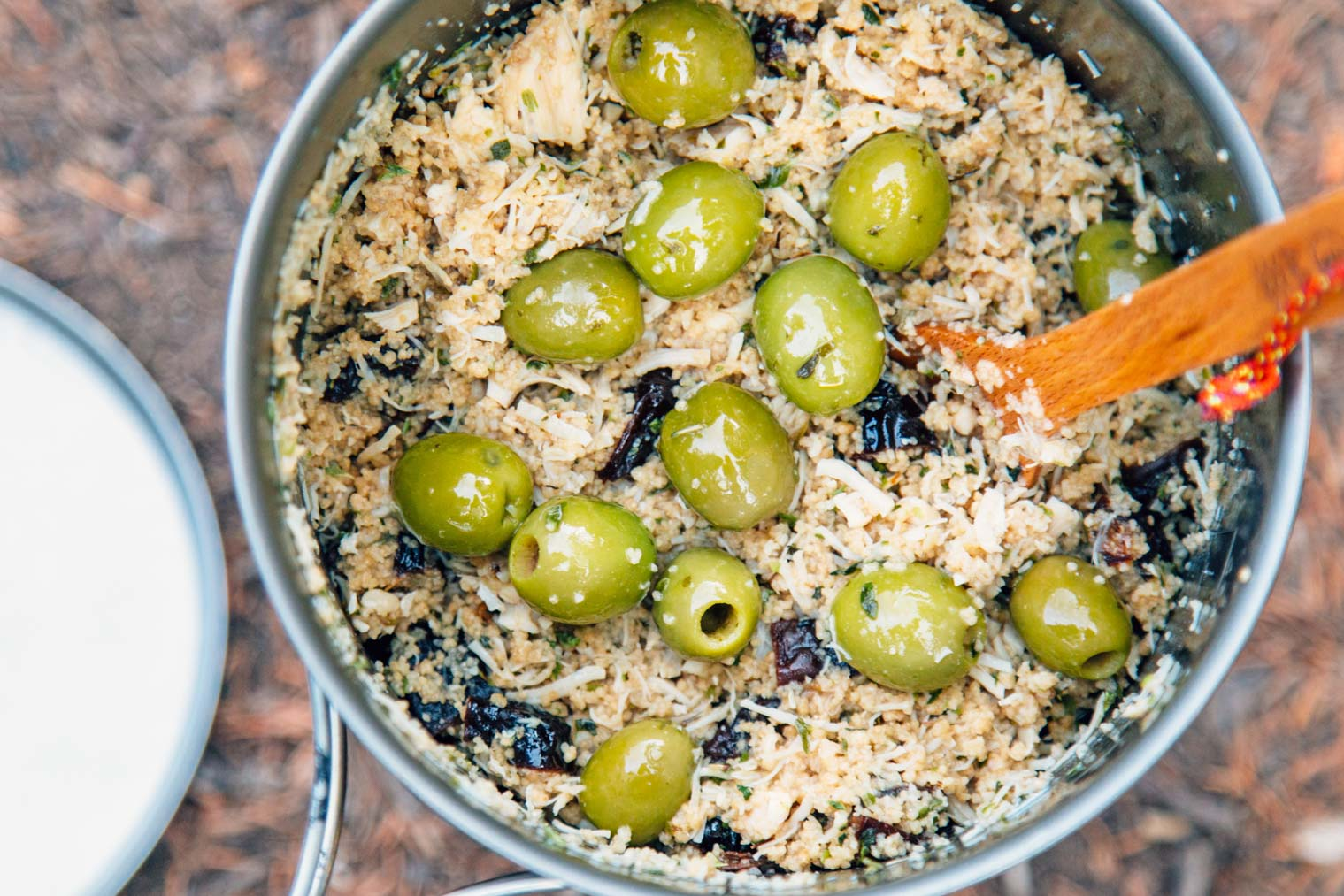 Backpackers Chicken Marbella A Sweet Savory Backpacking Meal That Uses No Dehydrated Ingredients And
