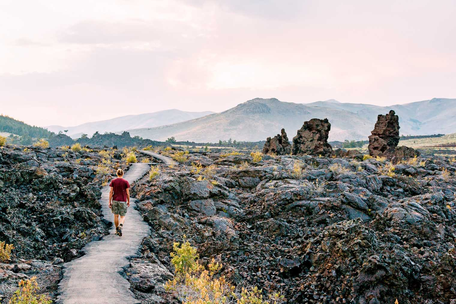 Exploring Craters of the Moon National Monument