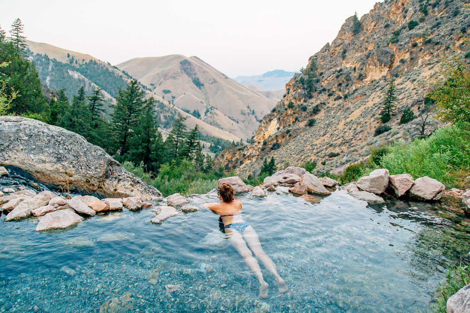Idaho's most epic hot spring