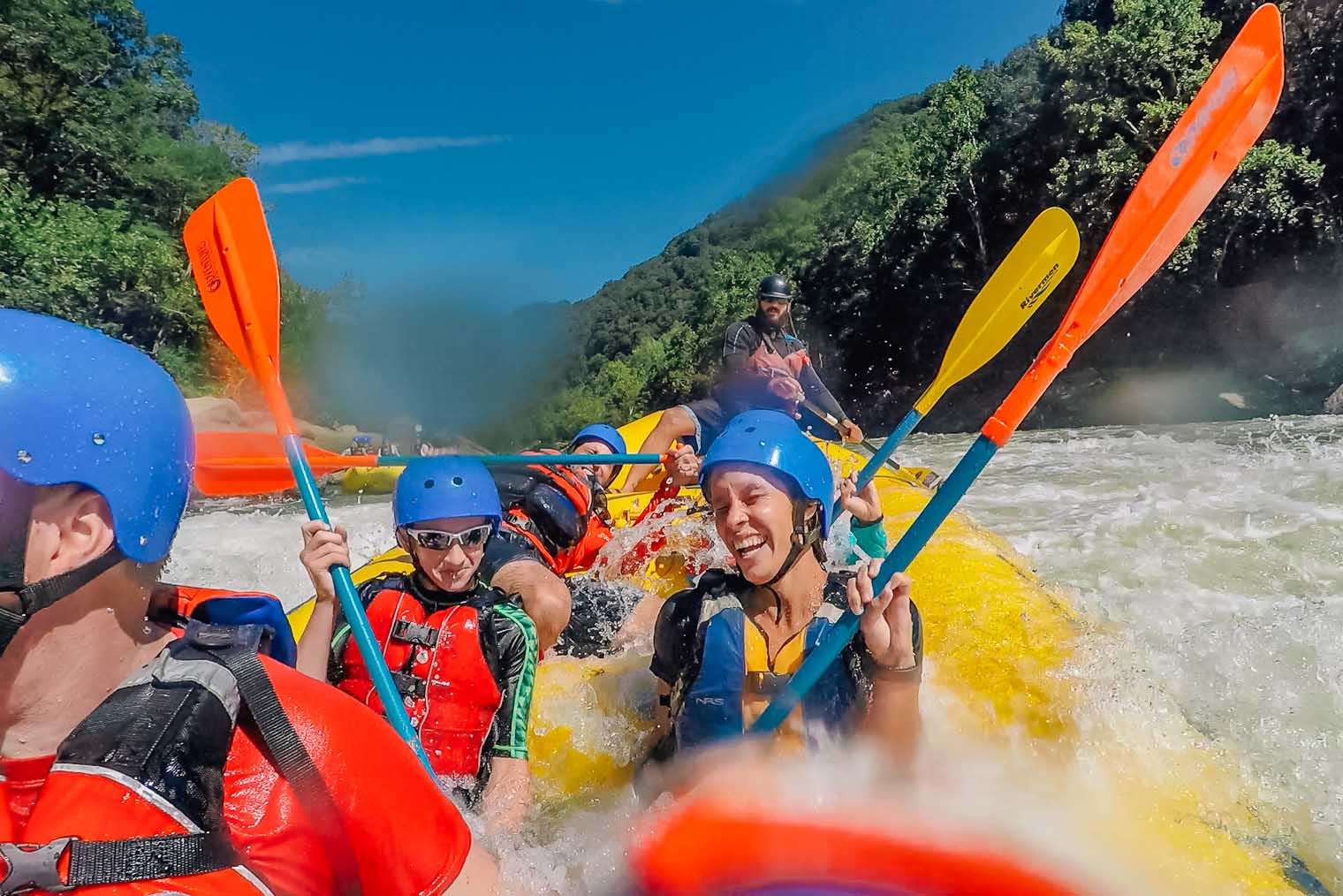 White Water Rafting on the New River in West Virginia