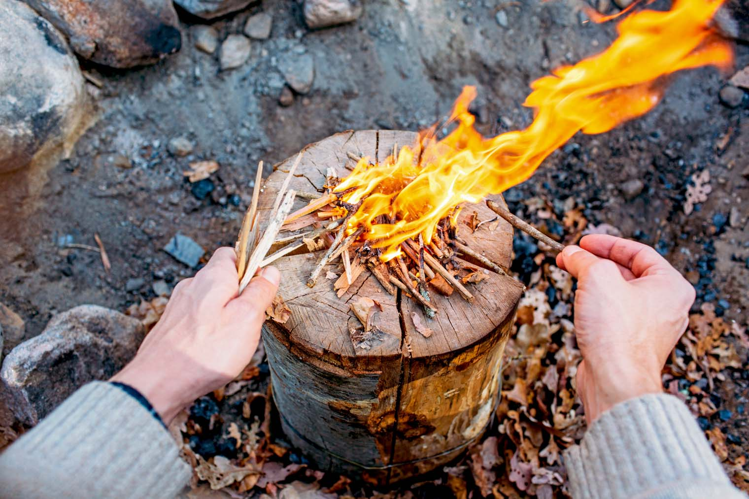 How to make a fire 33
