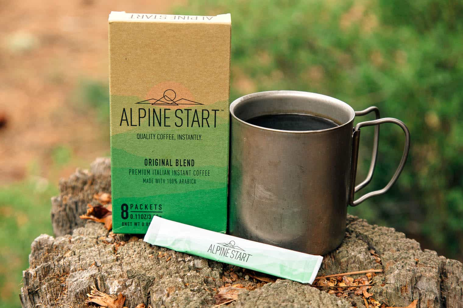 Alpine Start Instant Coffee - Instant Coffee for Backpacking