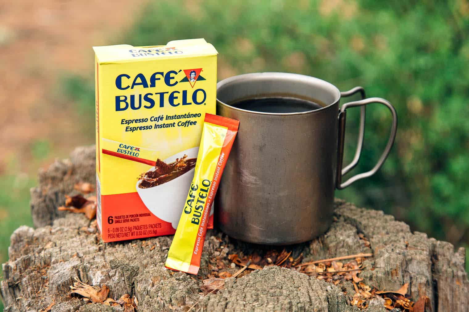 Cafe Bustelo Instant Coffee - Instant Coffee for Backpacking
