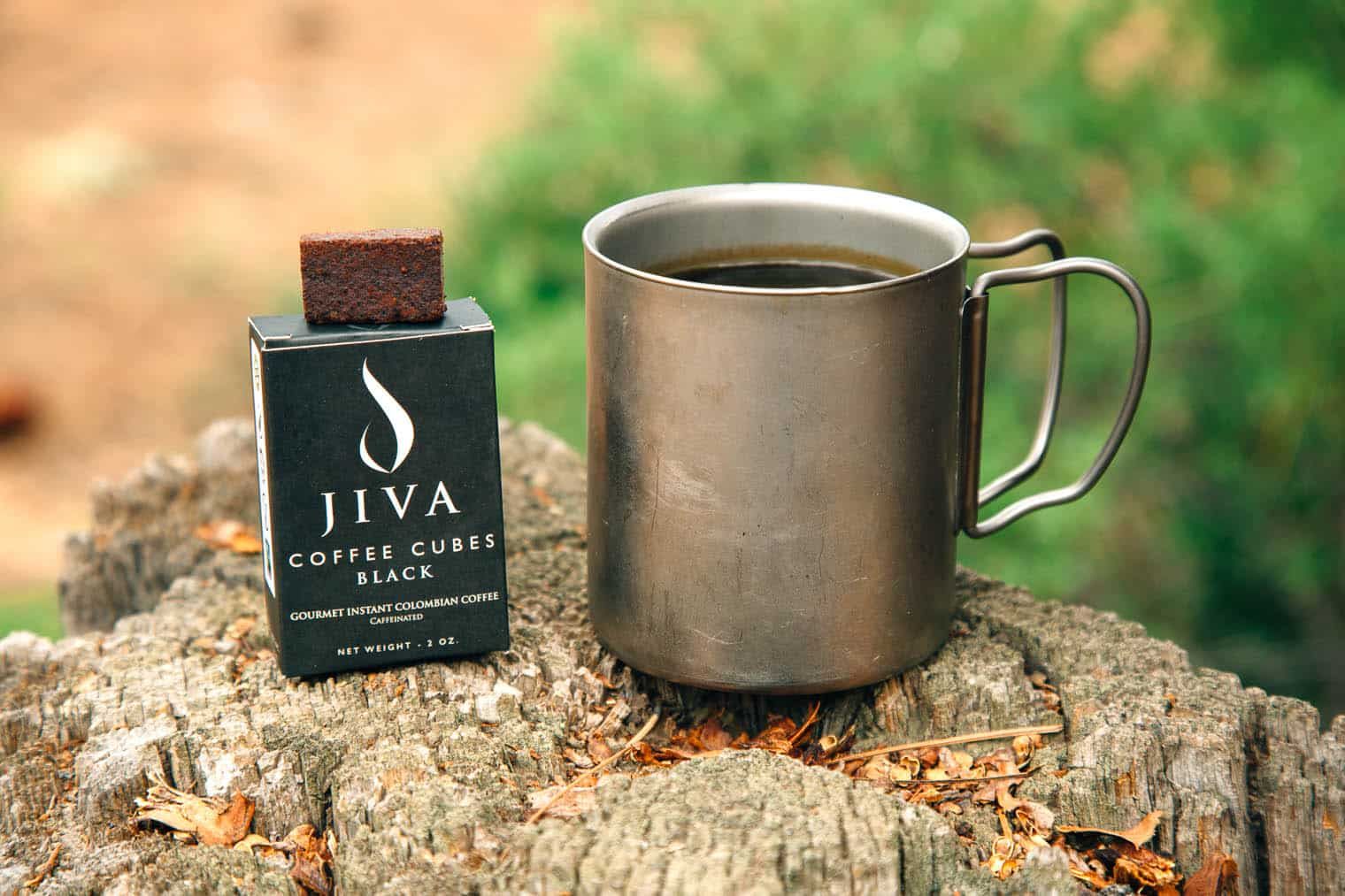 Jiva Cube Instant Coffee - Instant Coffee for Backpacking
