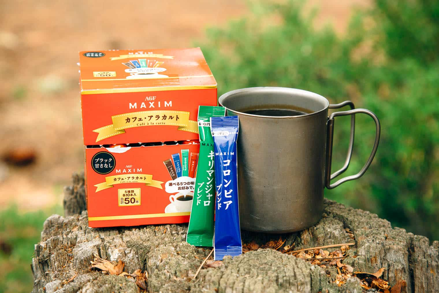 Maxim Instant Coffee - Instant Coffee for Backpacking