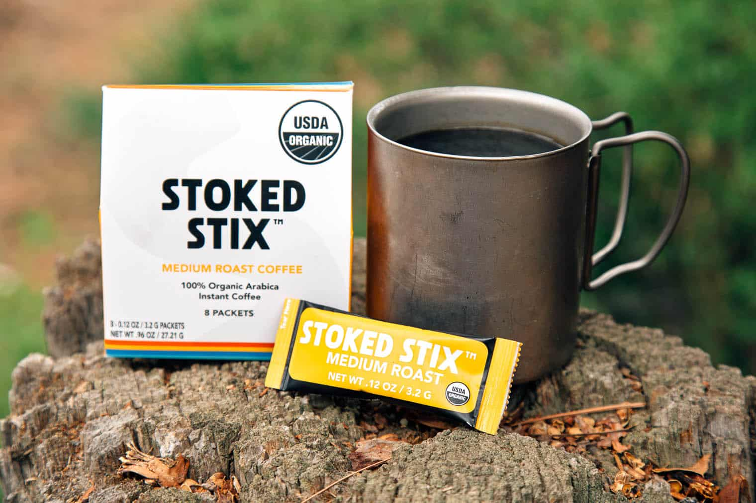Stoked Stix Instant Coffee - Instant Coffee for Backpacking
