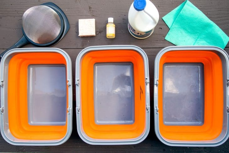 How To Wash Dishes While Camping Fresh Off The Grid