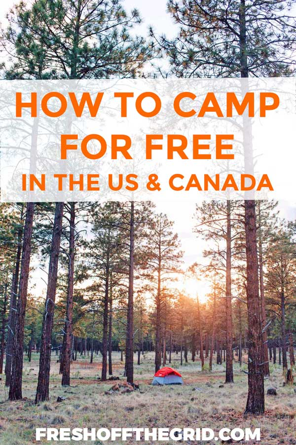 How to Find Free Camping Pin