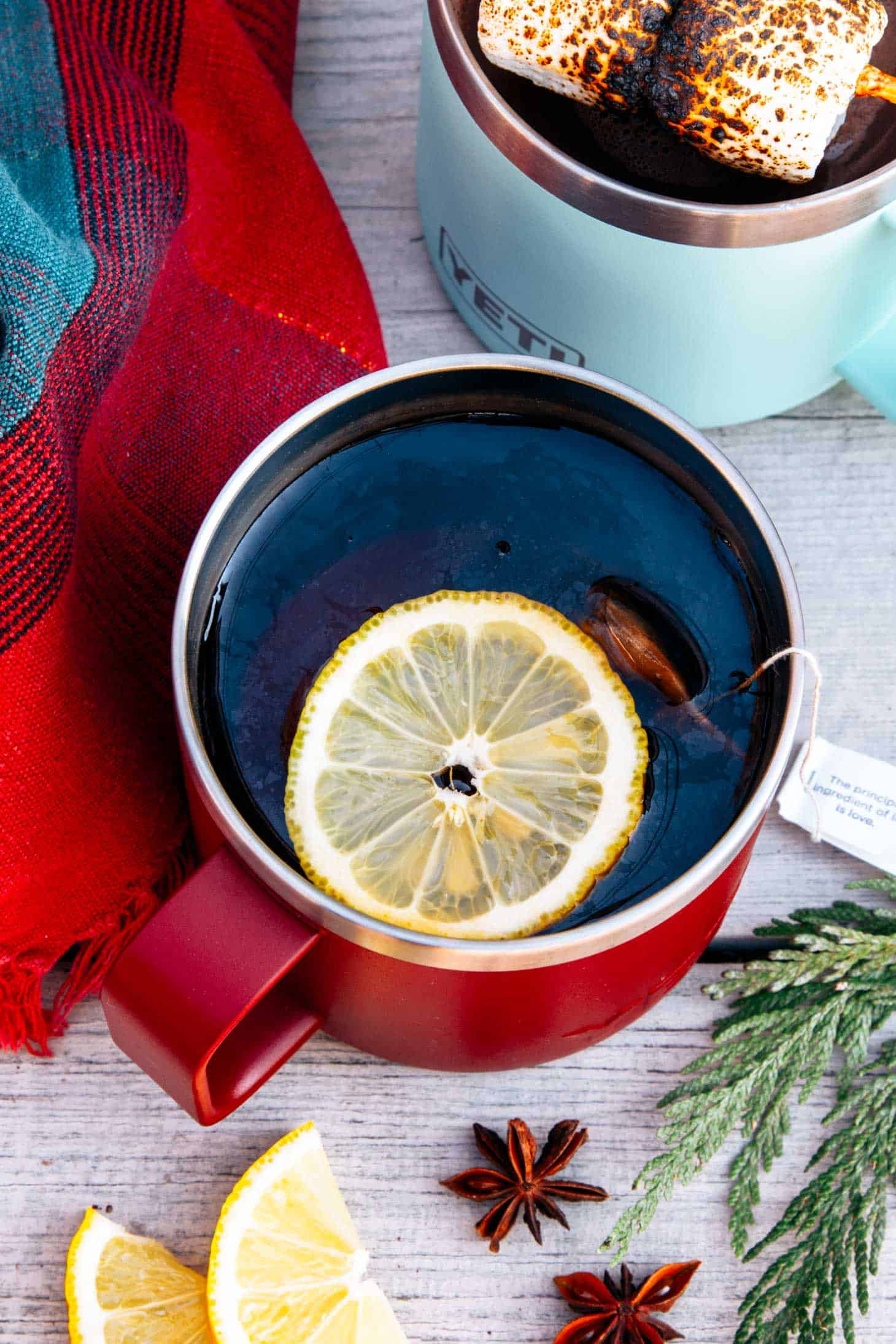 Chai Hot Toddy in a mug